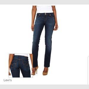 Levi 529 curvy straight